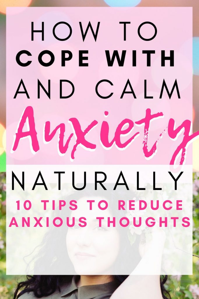 how to redue your anxiety naturally