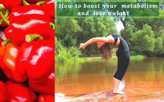 How to boost your metabolism to lose weight