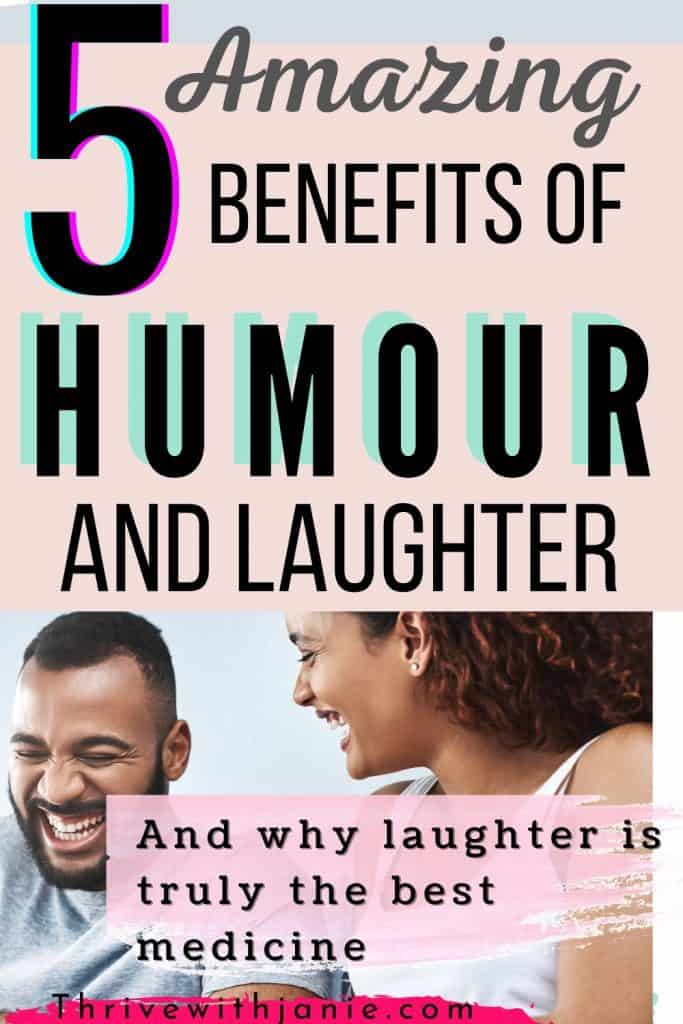 The five reasons why laughter is good for you