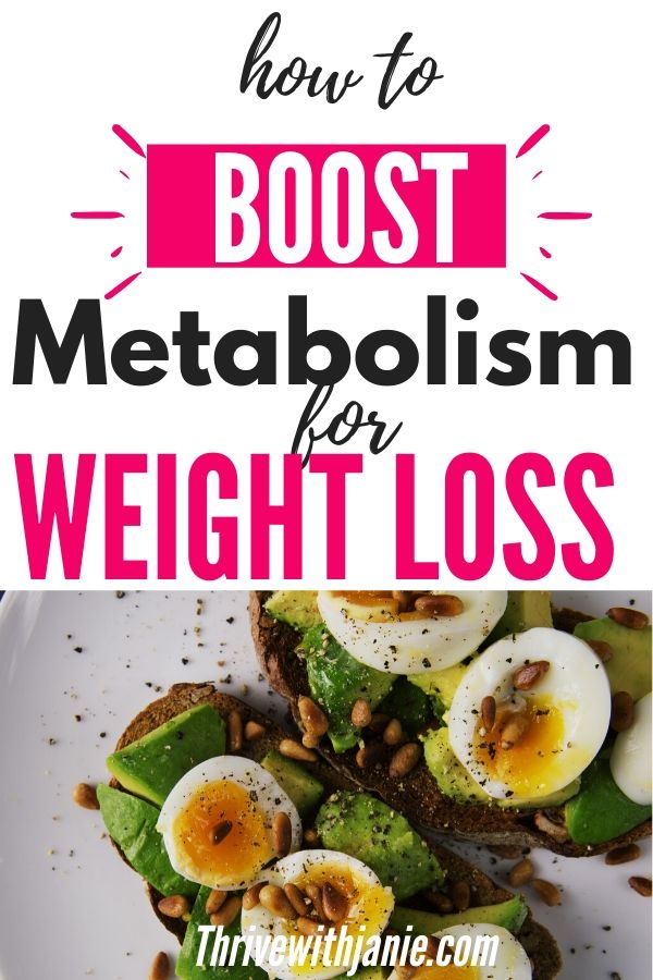 How to boost your metabolsim naturally