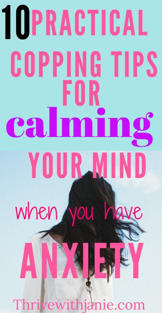Calm anxiety with these tips