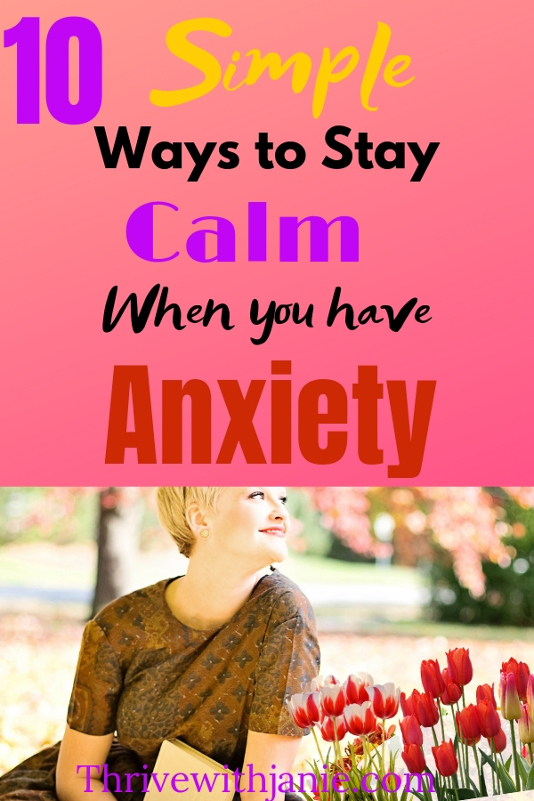 Tips to help manage anxiety naturally, and have a calm mind. Health ways to manage anxiety
