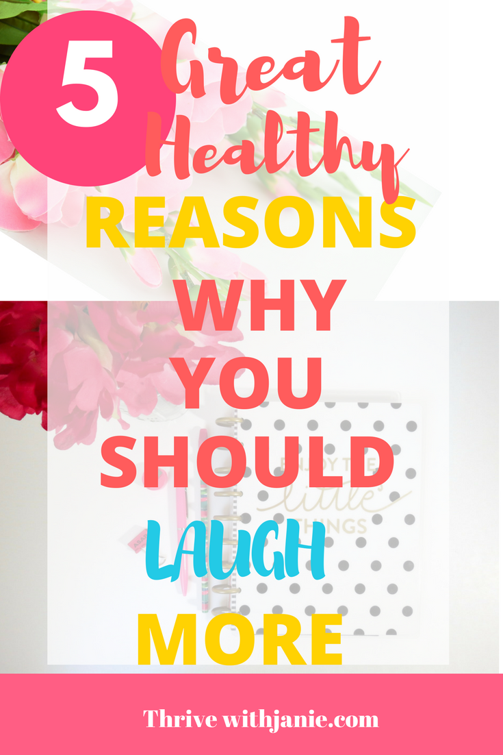 5 great reasons why you should laugh more often