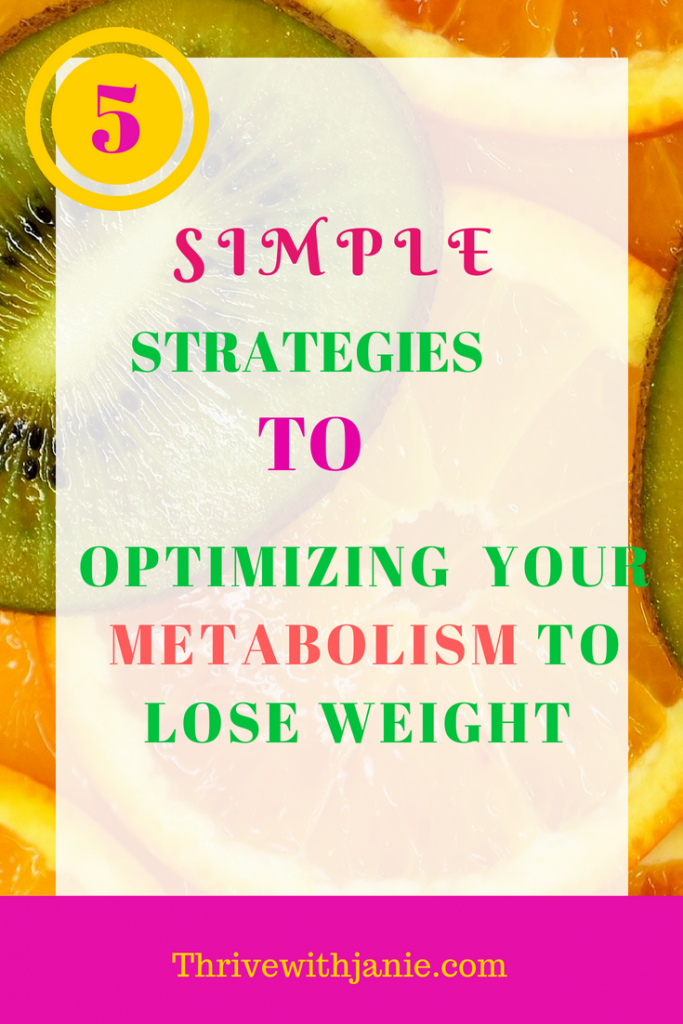 metablism and weight loss