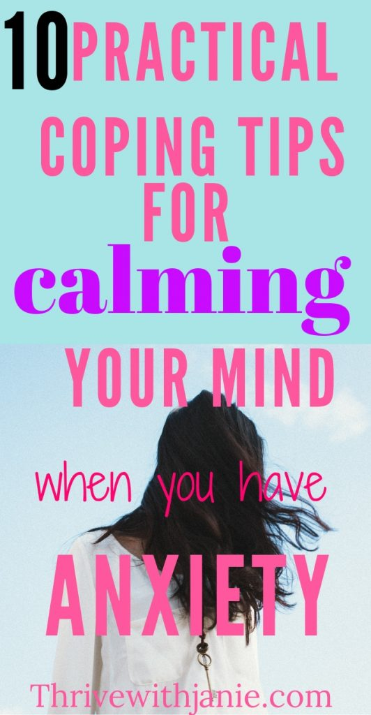 simple tips to healp ease and calm anxiety