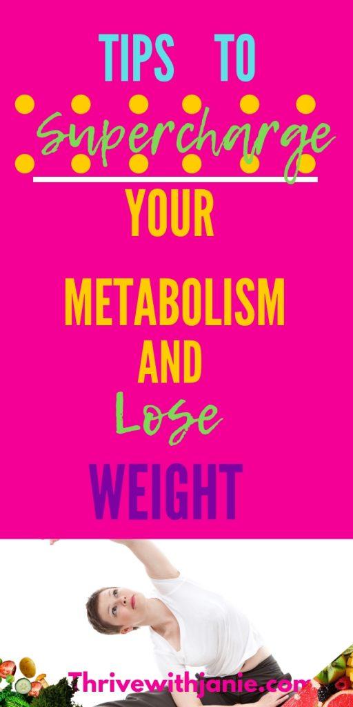 tips for a revved up metabolism
