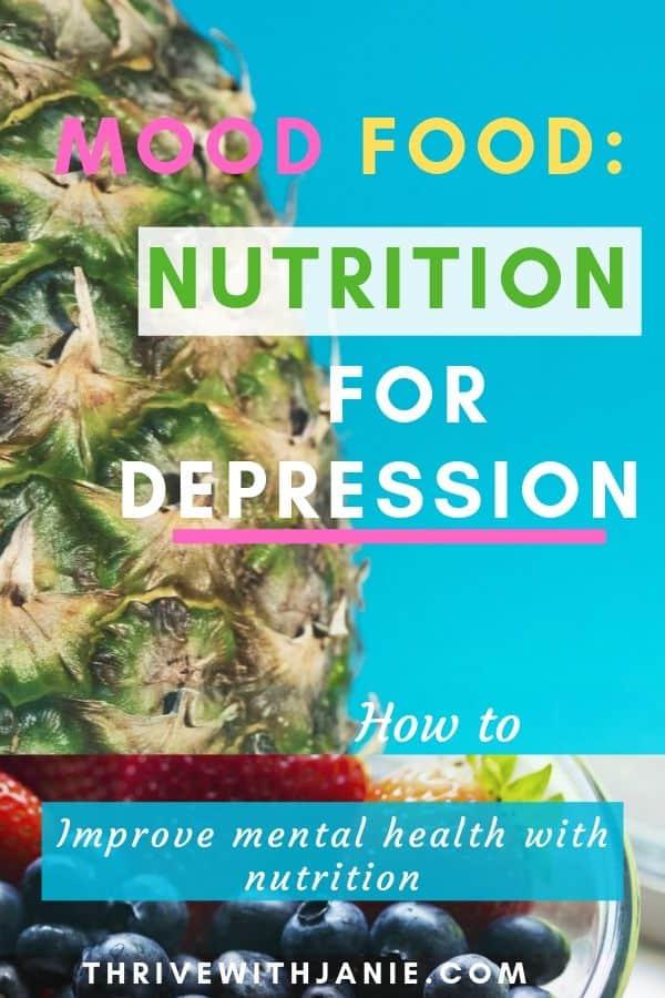 Nutrition for depression