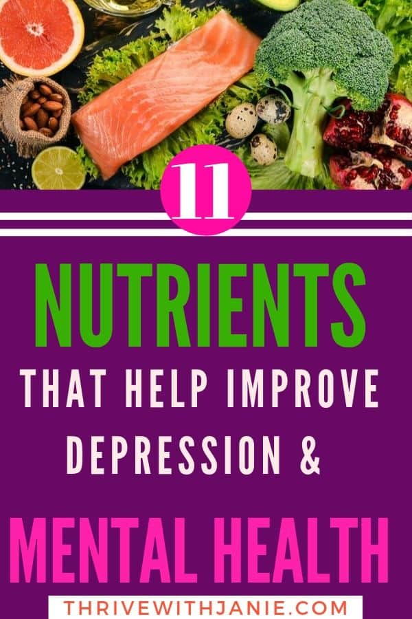 Depression nutrion: how to improve mood and mental health with nutrition