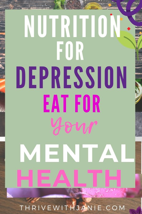 Depression nutrition