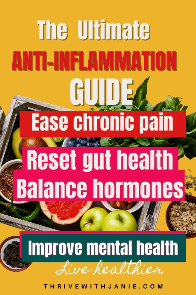 how to heal inflammation naturally?