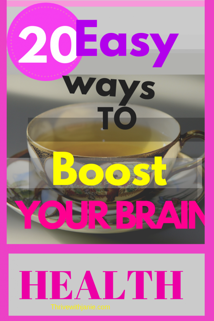 20 foods for great brain health