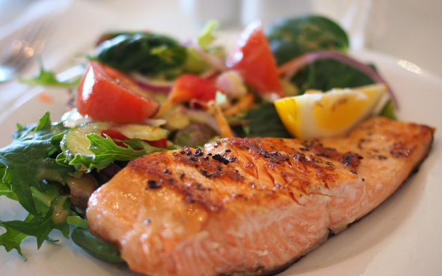 salmon is good for brain health