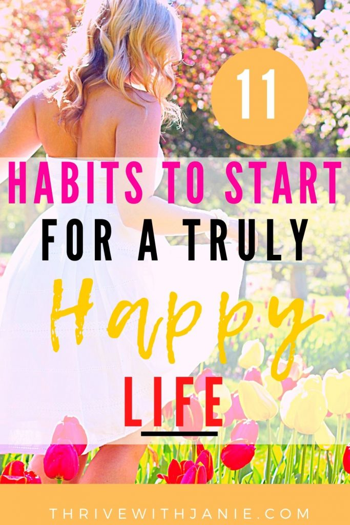 11simple habits for a happy life