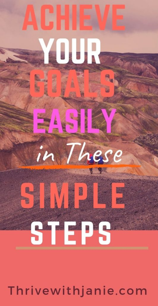 how to achieve your health goals easily