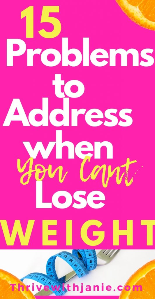 how to lose weight when you have trouble losing weight