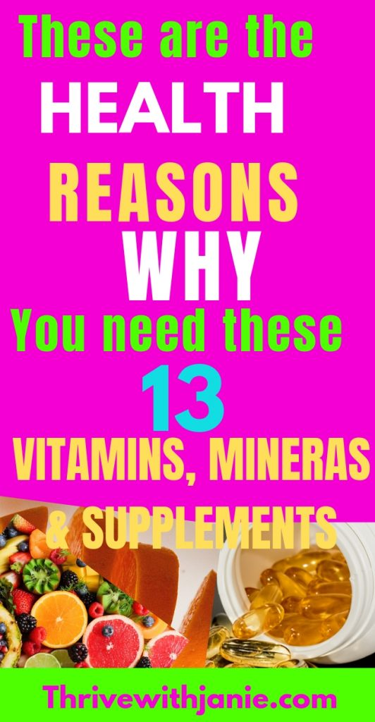 include these vitamins and minerals in your diet to boost your health