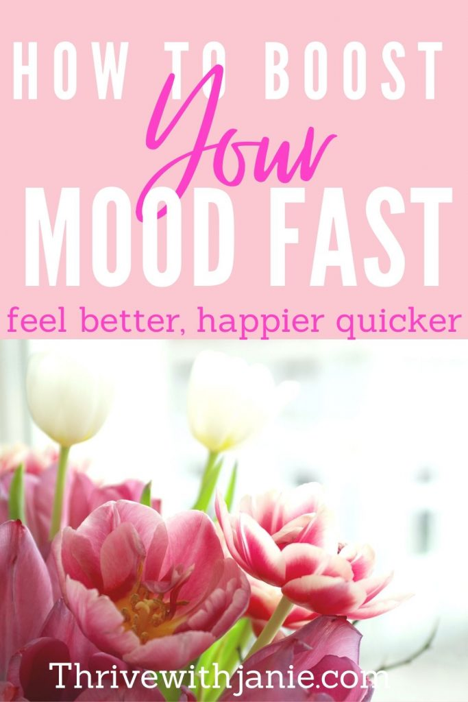 how to boost your mood fast