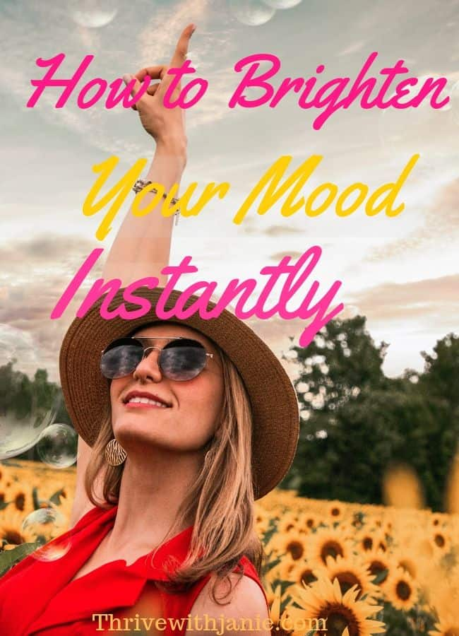 How to bosst your mood instantly. Tips to brighten you mood quicklily, feel happy fast
