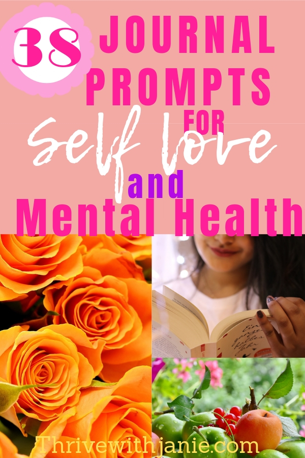 OURNAL PROMPTS TO BOOST SELF LOVE MENTAL HELATH
