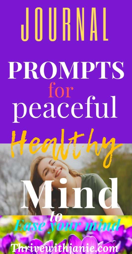 ease your mind journal prompts