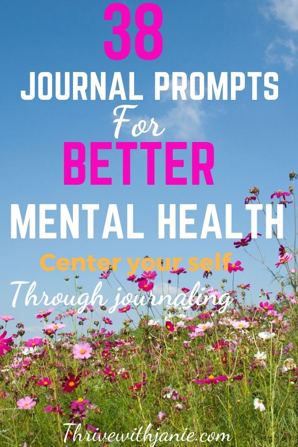 journal prompts for better mentalhealth