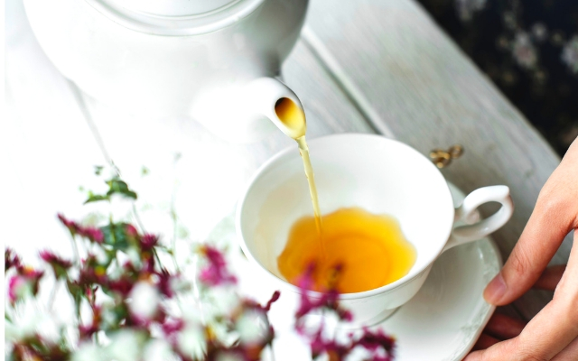 lift you mood instantly with a cup of tea