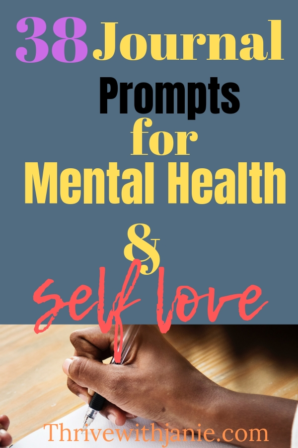 mental health and self love jouranl prompts