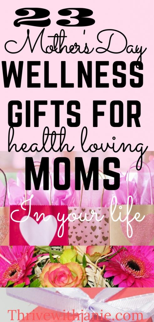 The healthy Mothers day Gift guide