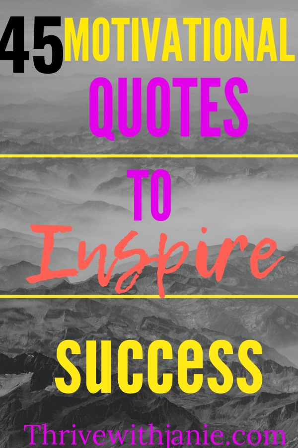motivationa, inspirational quotes for successs