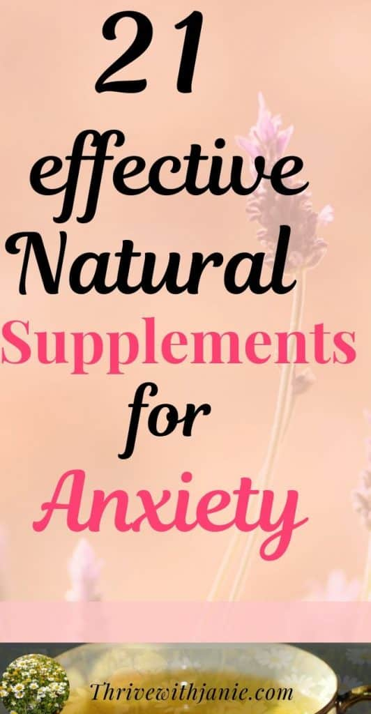 Best supplements for anxiety to treat anxiety naturally. Natural ways to calm anxiety that are proven to work