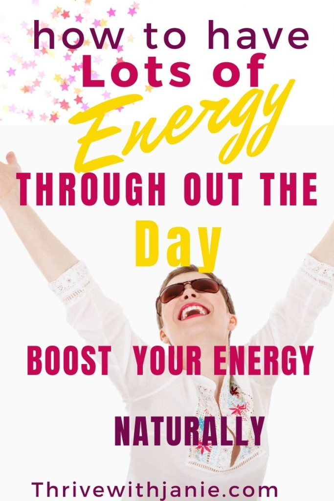 How to boost your energy naturally