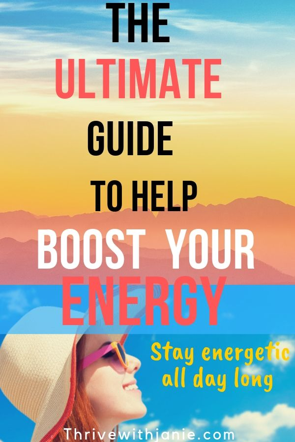 how to have more energy all day long.