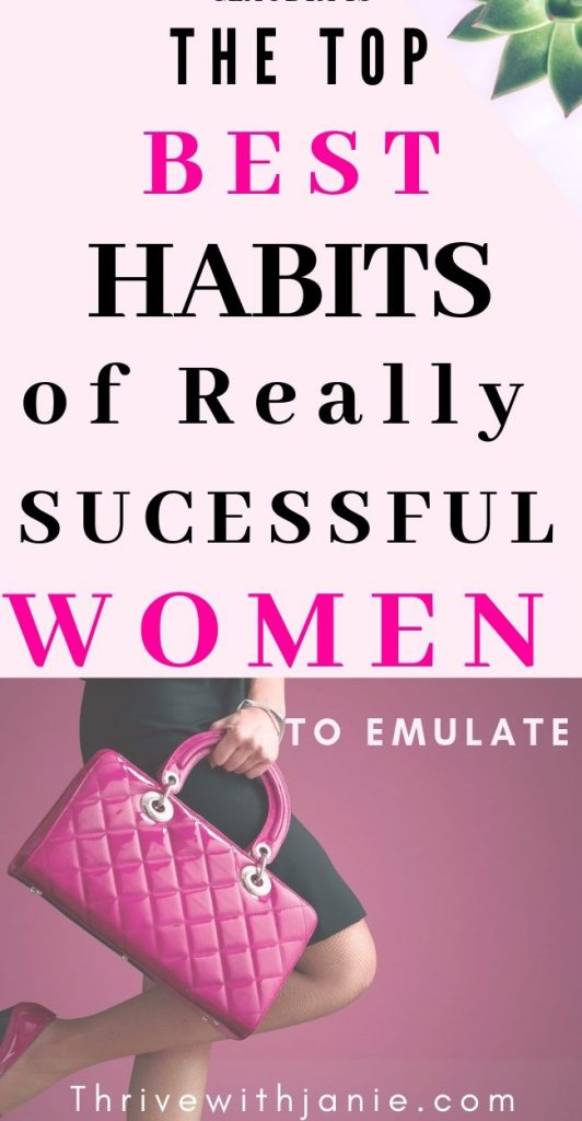 The best habits of successful women