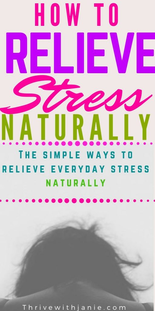 How to relieve stress naturally