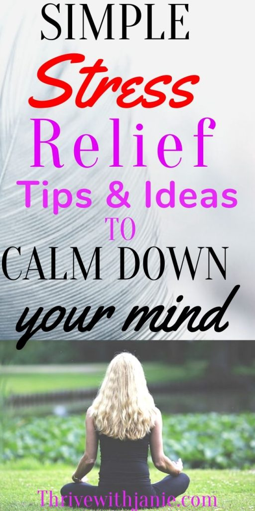 The best ways to relief stress naturally
