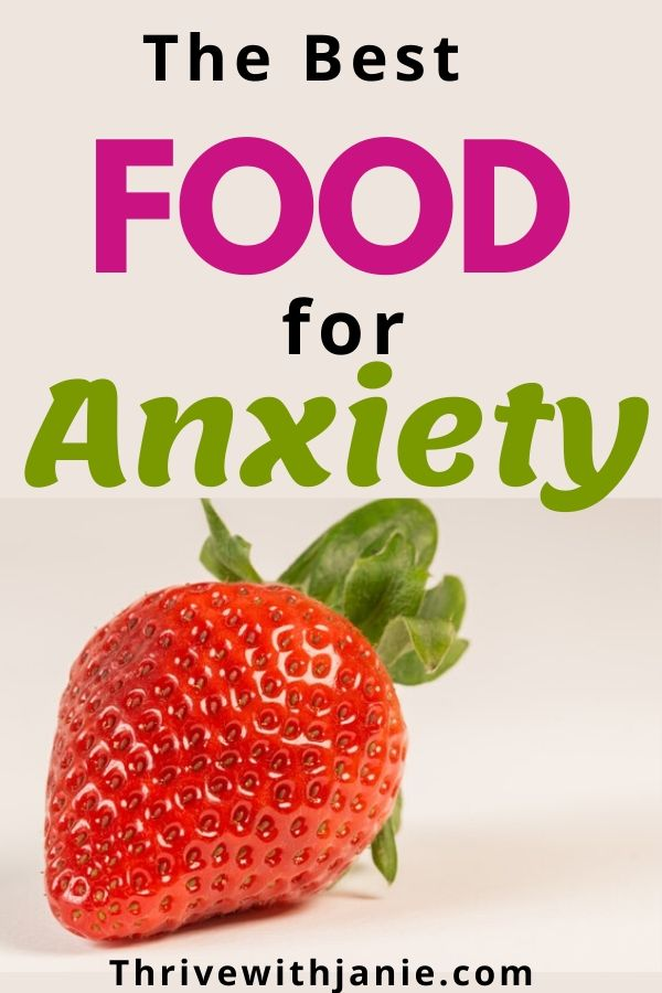 food for anxiety