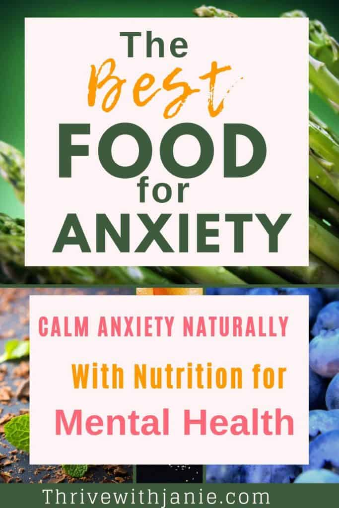 best food for anxiety and stress