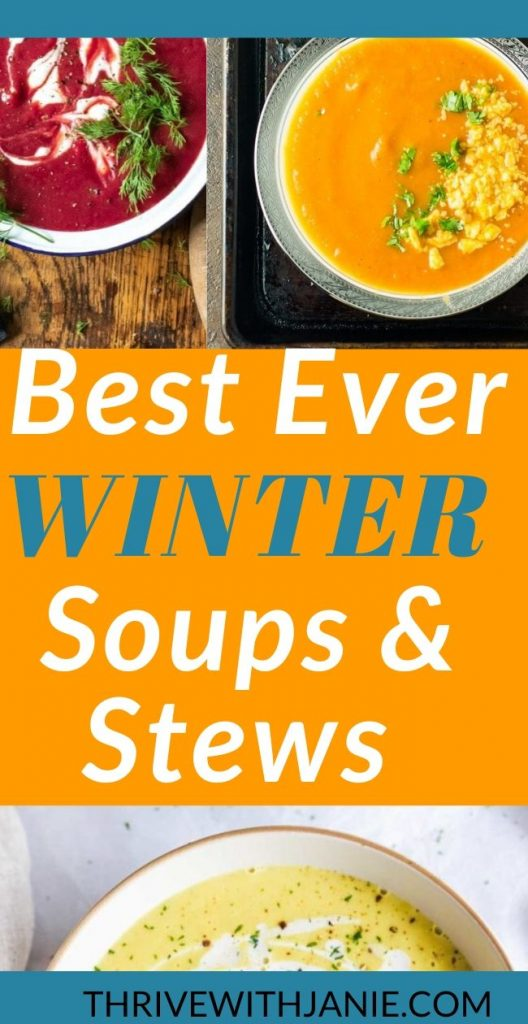 Healthy winter soups and stews