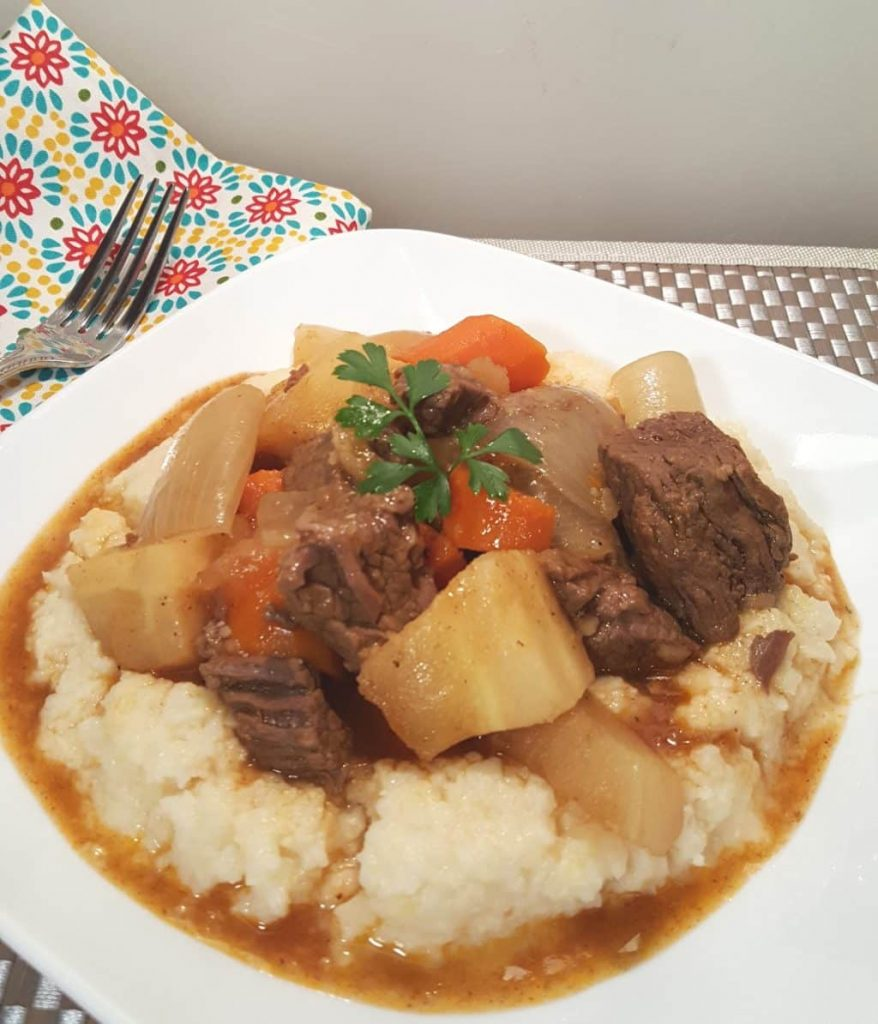 Winter soups and stews.