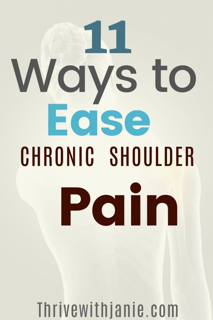 How to relieve chronic shoulder pain