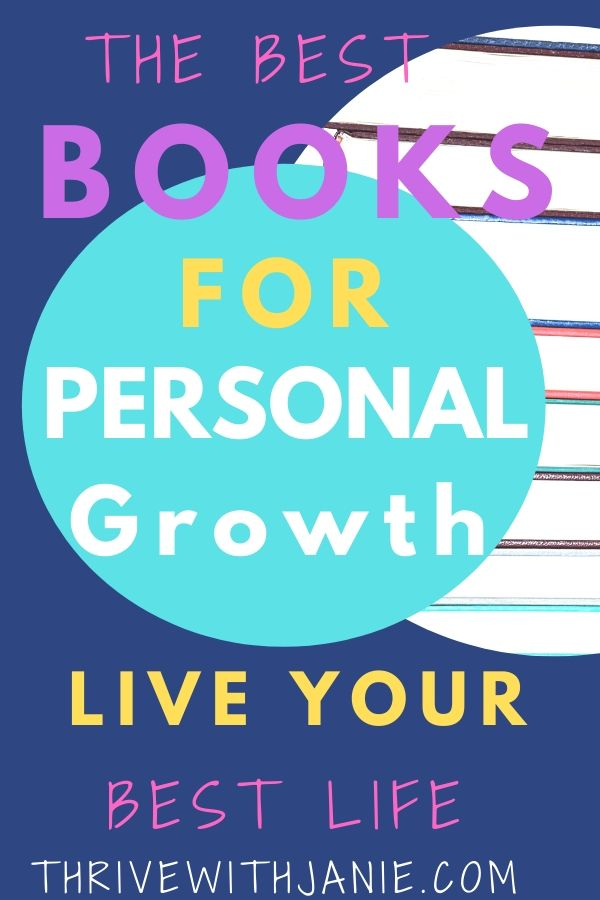The best books for personal growth
