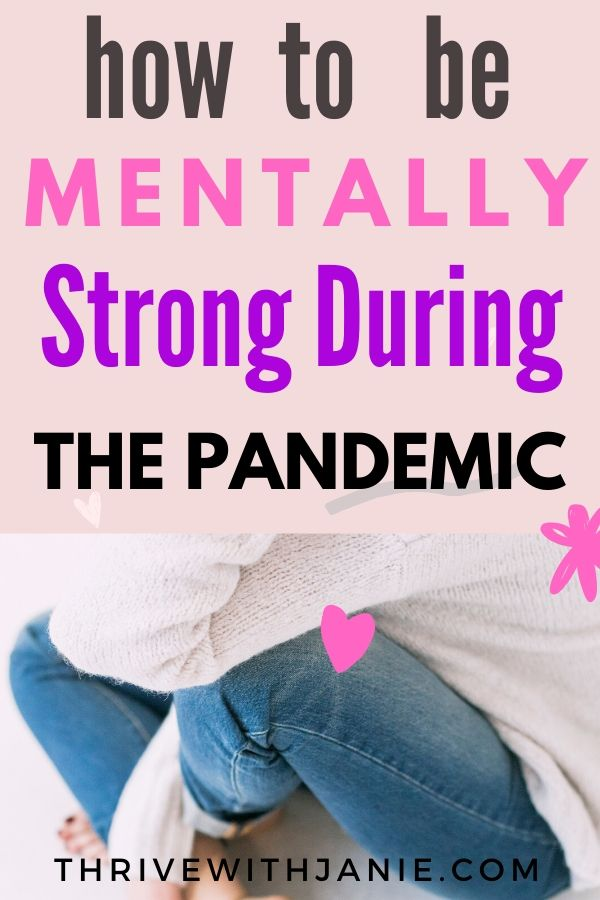 How to remain calm in pandemic