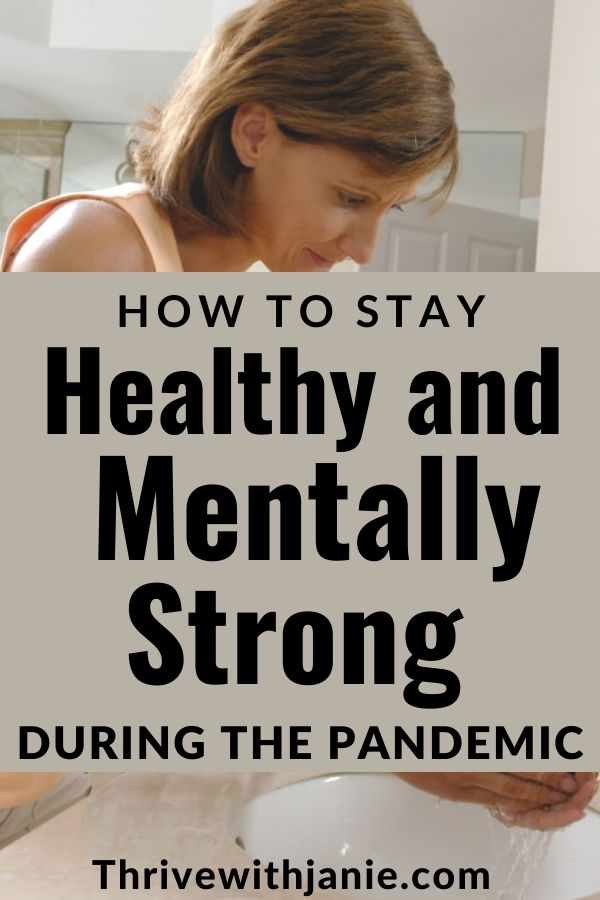 How to saty mentally strong during the pandemic