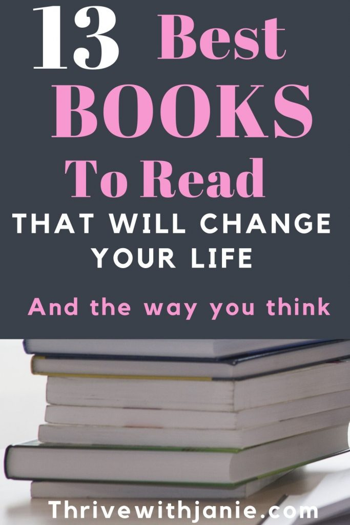Books to read that will change your ife