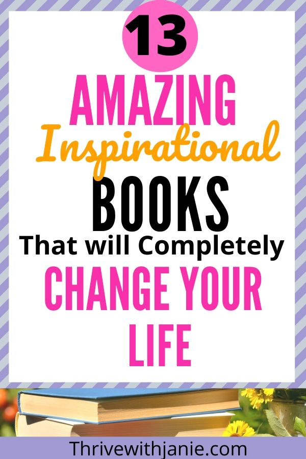 Inspirational books that will change your life