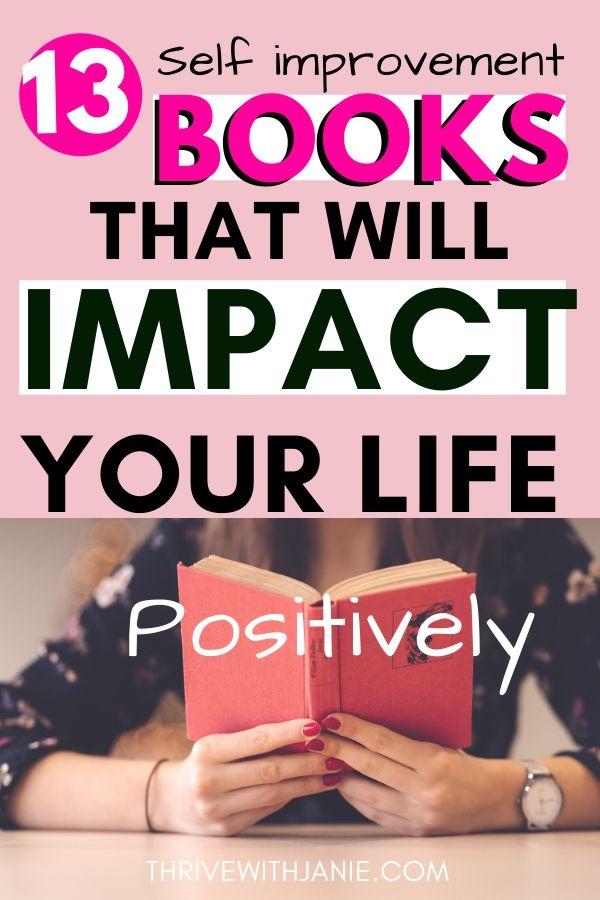 books for self improvement