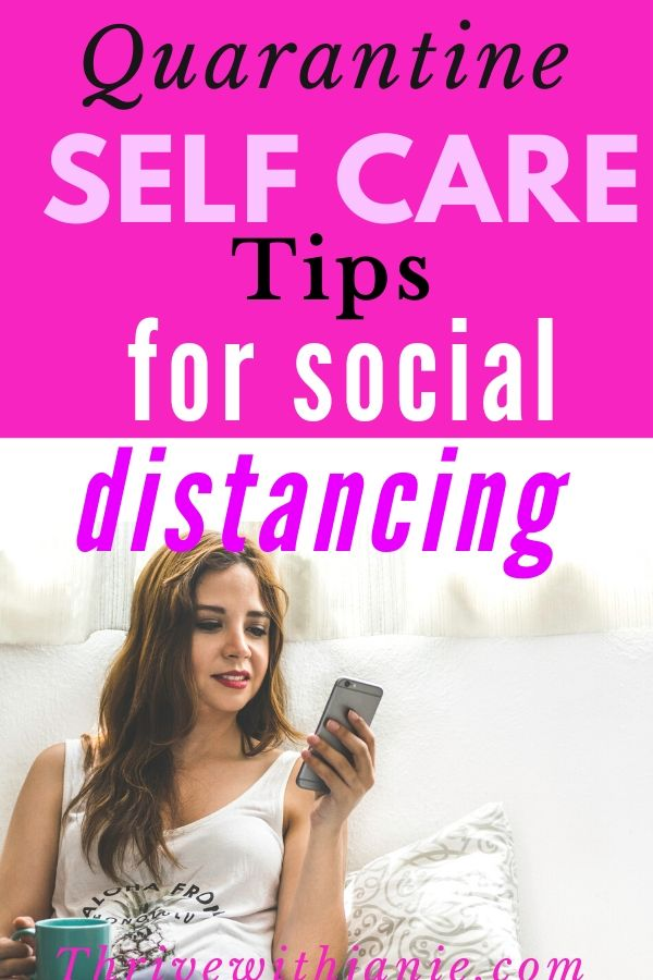 Selfcaretips for social distancing