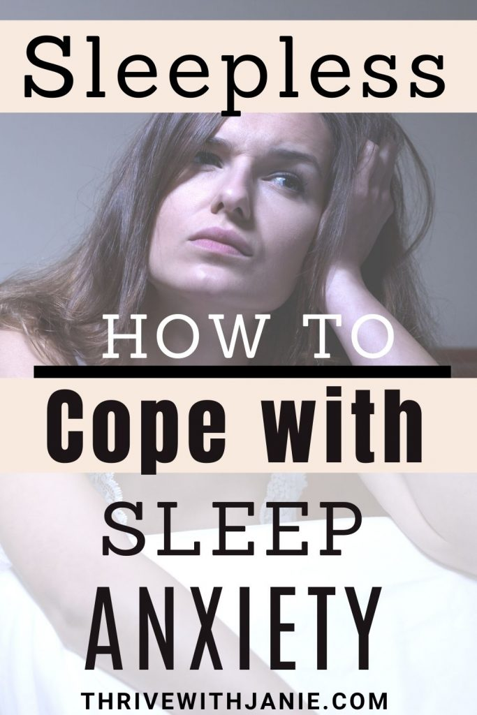 How to cope with sleep anxiety