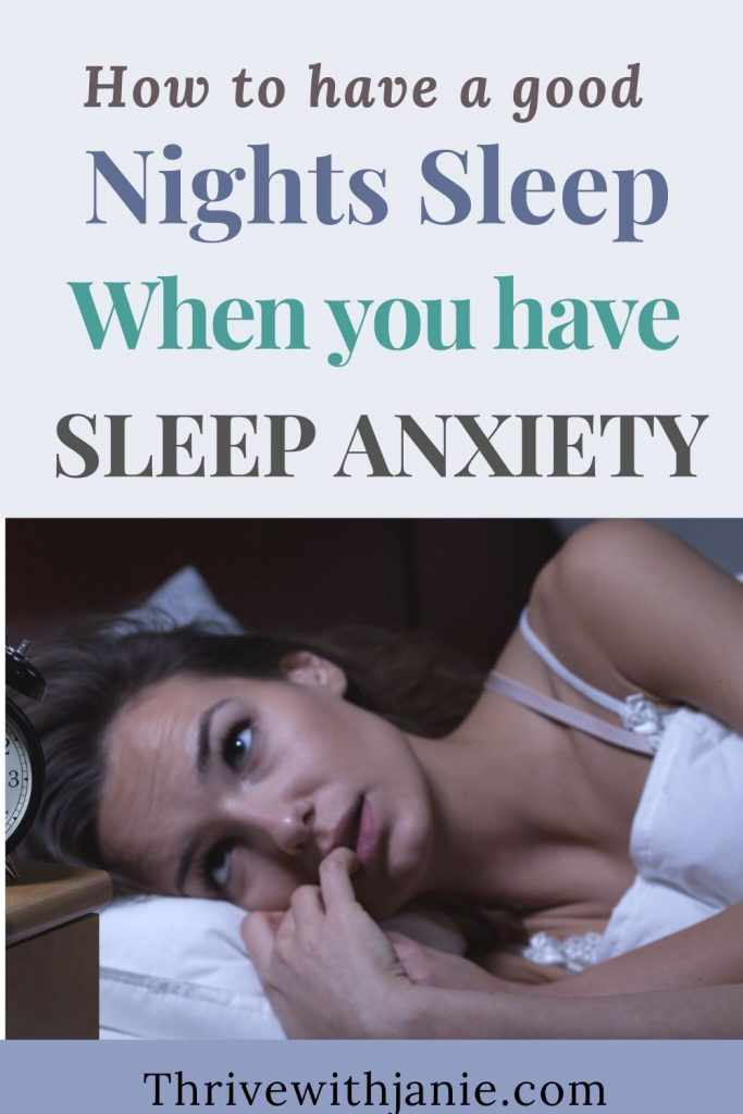 How to overcome bedtime anxiety naturally