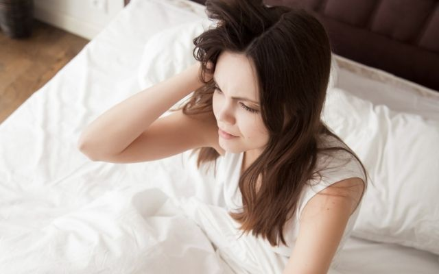 sleep time anxiety